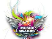 Music Awards 2010 vont remettre prix scène