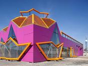 architects colorful youth center