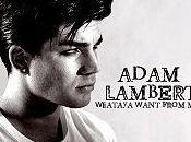 Adam Lambert clip Whataya want from arrive