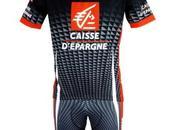Tenue cyclisme 2010 CAISSE D'EPARGNE