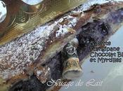 Galette Rois Frangipane Chocolat Blanc Myrtilles