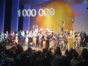 Lion fête 1000000e spectateur