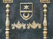 plaque cheminée emblèmes compagnonniques maçonniques Buffignécourt (70)
