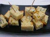 Cake Fourme d'Ambert emmental