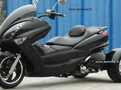 Scooter 200CC Ouragan roues