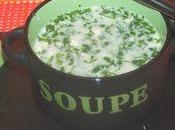 soupe cerfeuil