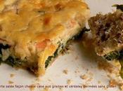 "Tarte cheese cake ""bonne humeur"" saumon"