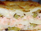 Lasagnes saumon asperges vertes