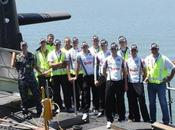 OMEGA PHARMA LOTTO:Visite Royal Australian Navy