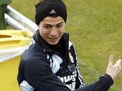Cristiano Ronaldo Entrainement avec équipe REAL MADRID