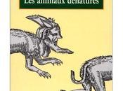 """solution: """"Les animaux dénaturés"""" Vercors"""