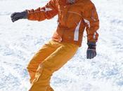Prête pour sports d'hiver
