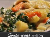 Soupe repas marine