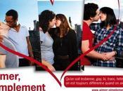 Kiss-in contre l'homophobie autres préjugés pour Valentin offensive