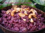 violet lait coco noix cajou