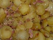 Patates oignons lardons.