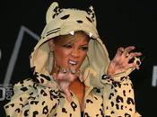 Rihanna Jeremy Scott Leopard Hoodie