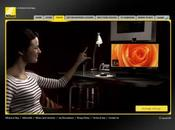 Nikon Virtual Touch Experience consulter photos comme dans Minority Report