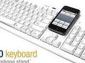 clavier avec socle iPhone