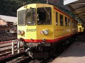petit train jaune Cerdagne canari.