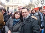Rassemblement Place d'Italie avec Anne Hidalgo 17h00