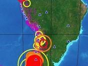 séisme magnitude 8,8, Chili, répliques... Vers nouveau supérieure Amérique