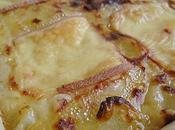 Gratin fondant raclette