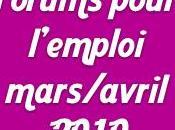 Forums emploi mars/avril 2010 autour Toulouse
