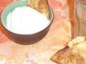 Crackers sucrés cannelle