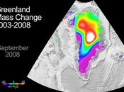 Evolution masses glace Groenland entre 2003 2008