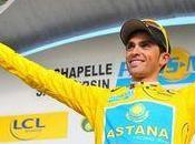 Contador, leader Paris-Nice trois jours l'arrivée