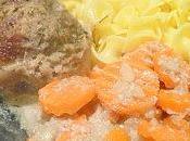 Paupiettes veau crème champignons Porto