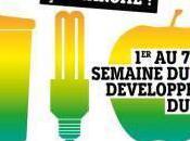 Semaine développement durable