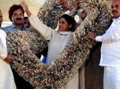 Mayawati l'intouchable touche...