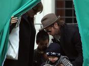 Angelina Jolie, Brad Pitt leurs enfants Venise