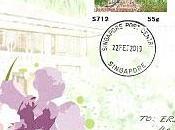 Nouveaux timbres distributeur Singapour