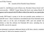 Nintendo annonce 3DS, console nouvelle génération