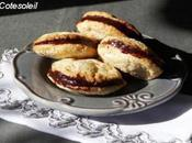 Biscuits noisette fourres chocolat