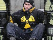 Déchets nucléaires Greenpeace bloque l'ambassade France Moscou