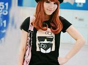 tee-shirt Hello Kitty Plasticgod Lady Gaga