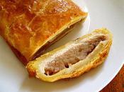 Feuilleté Pommes, Coings Pâte d'Amandes, Façon Strudel