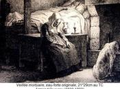 Veillée Mortuaire gravée Armand Queyroy