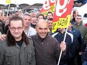 combat héroïque salariés GOODYEAR Amiens Manifestation 30.03. 2010 (vidéos photos