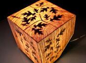 cube bois lumineux Robin Julian
