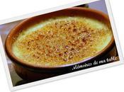 Crème brûlée anisée