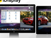 iDisplay, dual screen avec iPad iPhone