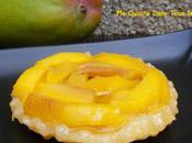 Tartelettes renversées mangue