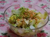 petite salade toute simple avec pomme