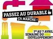 Programme Alsace avril Semaine Développement Durable