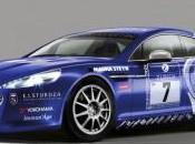 L'Aston Martin Rapide départ heures Nürburgring